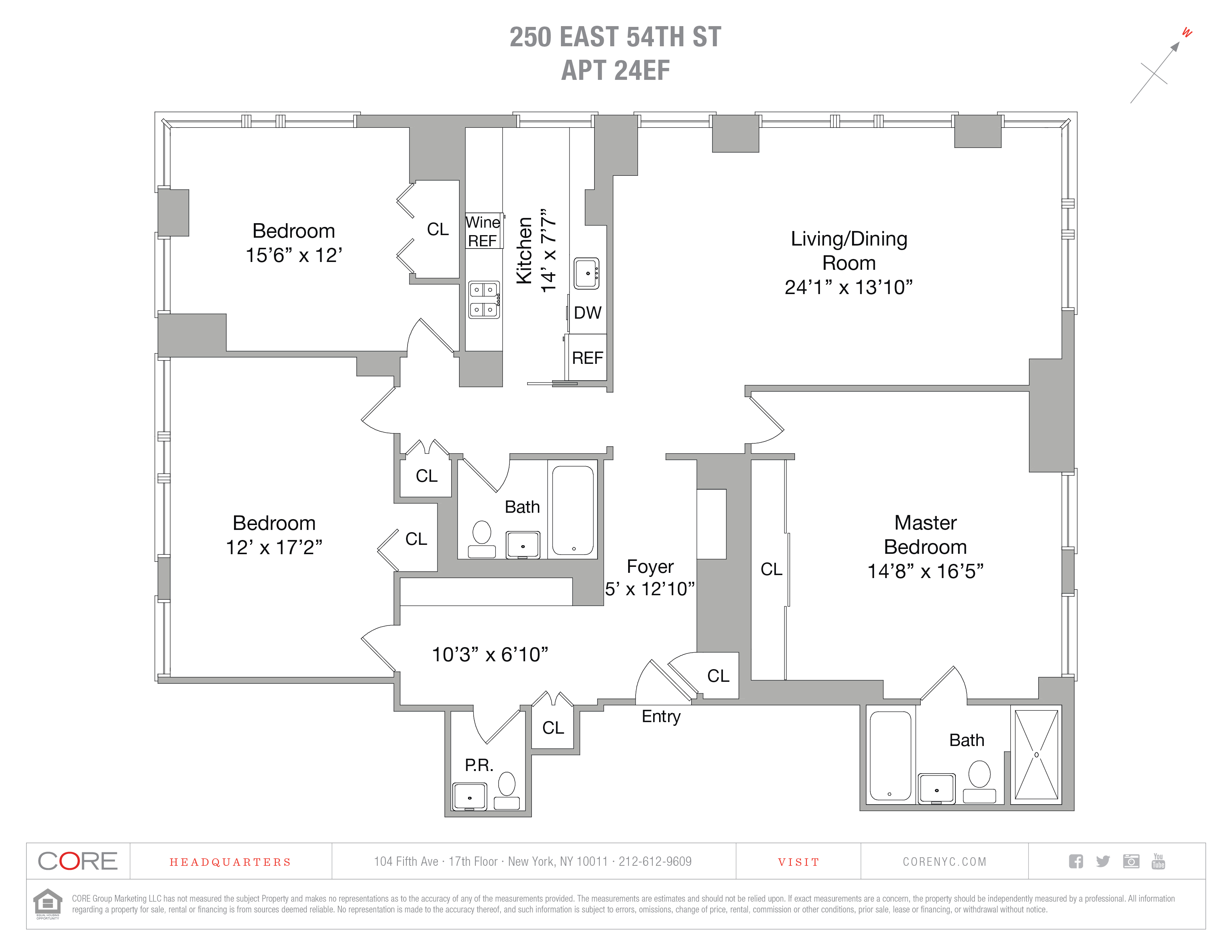250 East 54th St. 24EF, New York, NY 10022