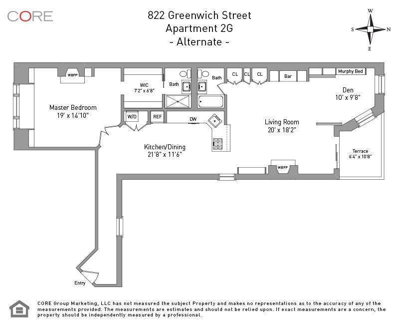 822 Greenwich St. 2G, New York, NY 10014