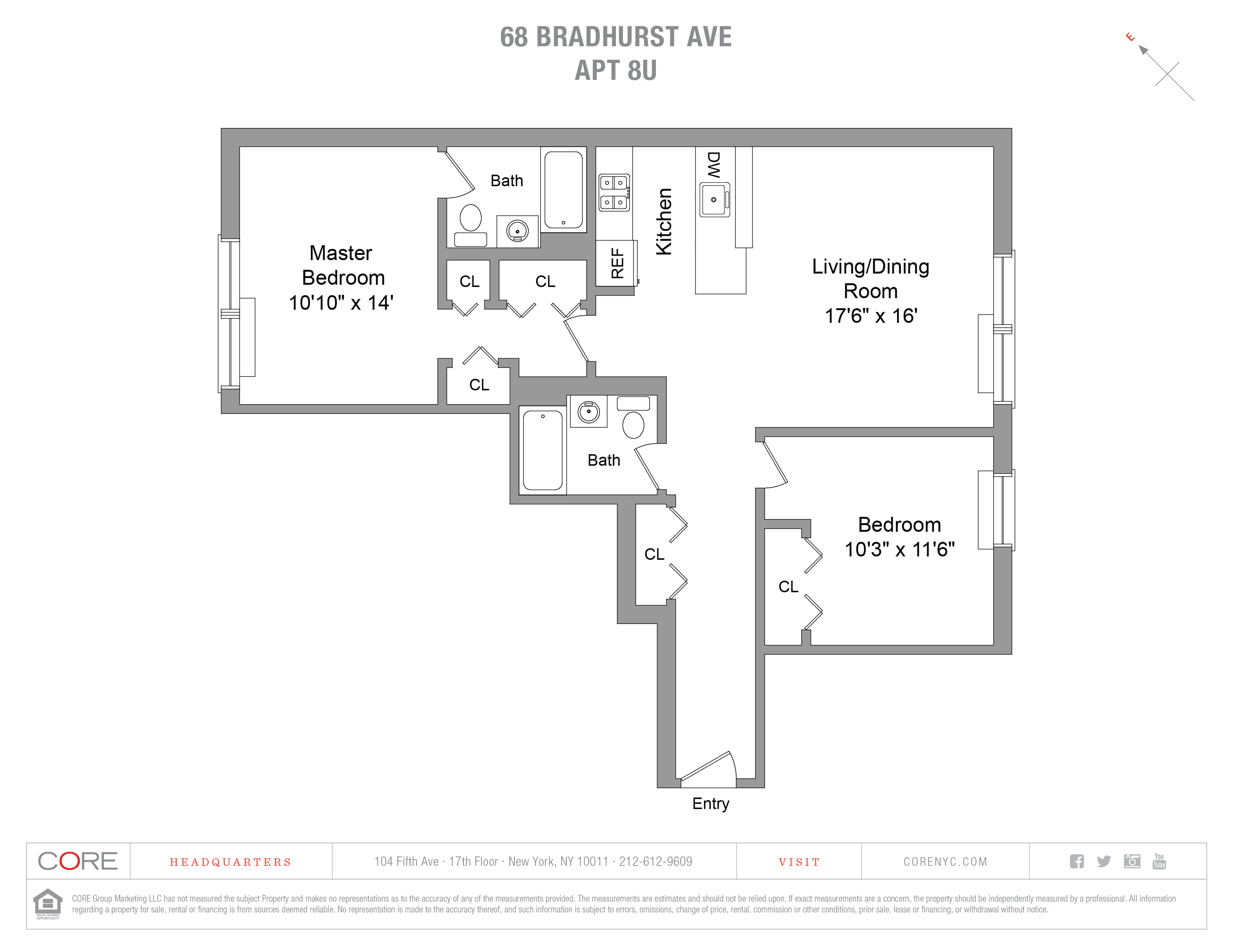 68 Bradhurst Ave. 8U, New York, NY 10030