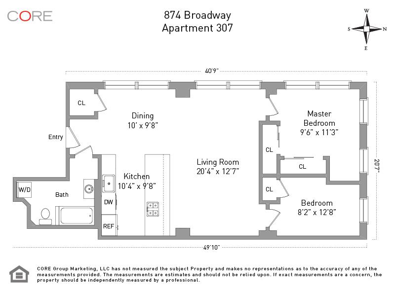 874 Broadway 307, New York, NY 10003