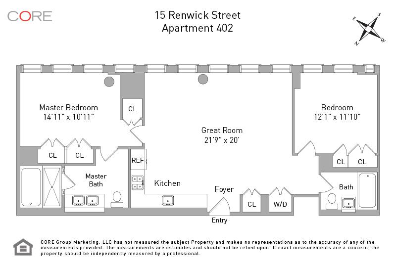 15 Renwick St. 402, New York, NY 10013