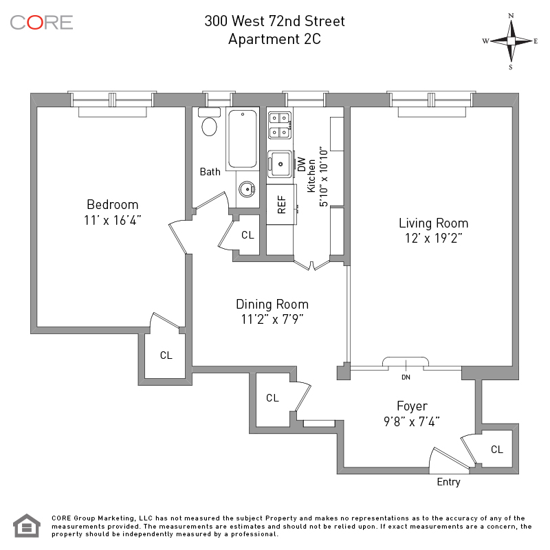 300 West 72nd St. 2C, New York, NY 10023