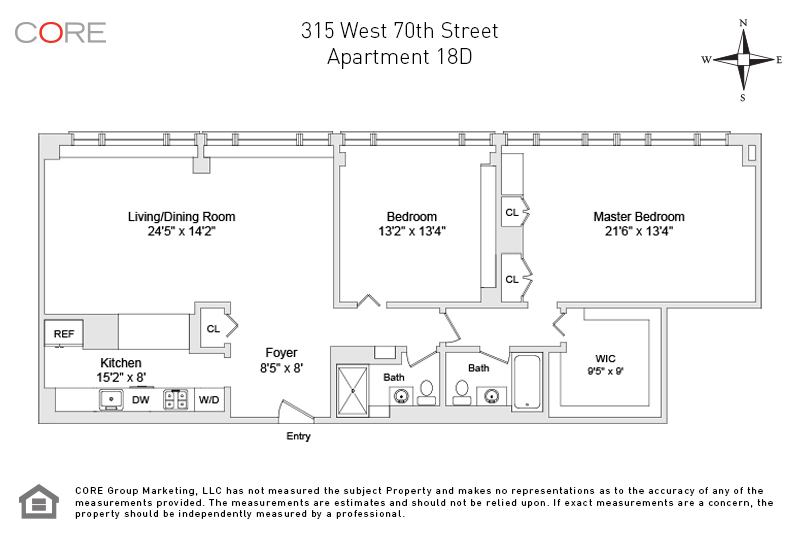 315 West 70th St. 18D, New York, NY 10023