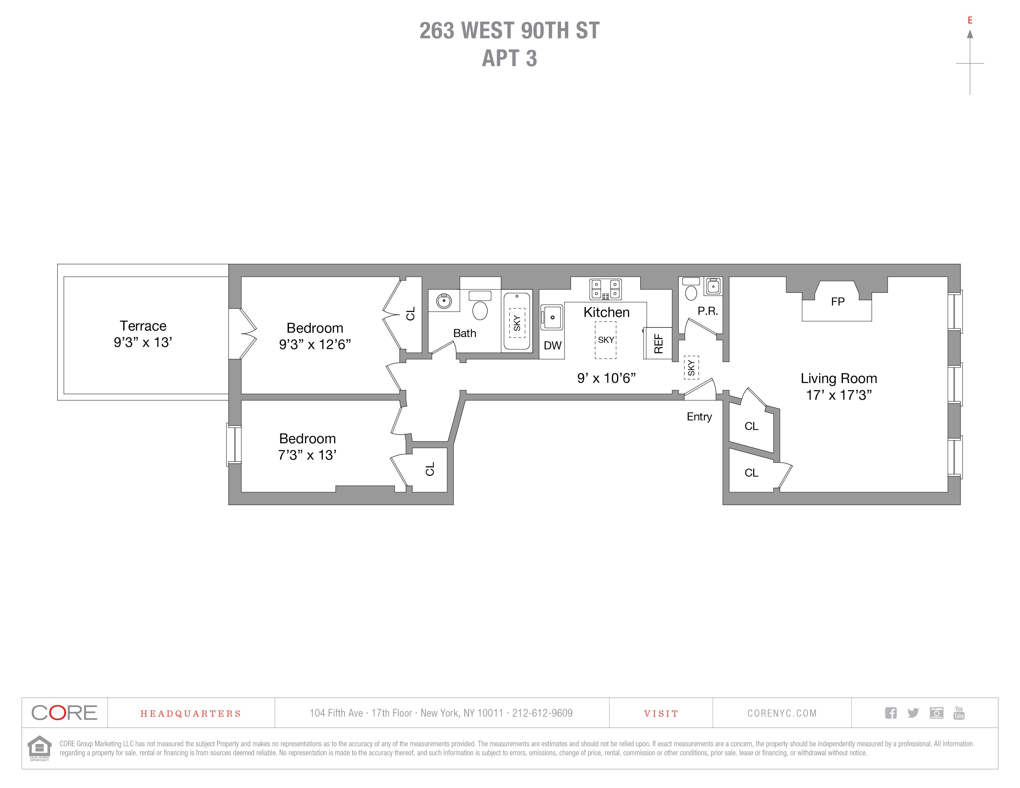 263 West 90th St. 3, New York, NY 10024