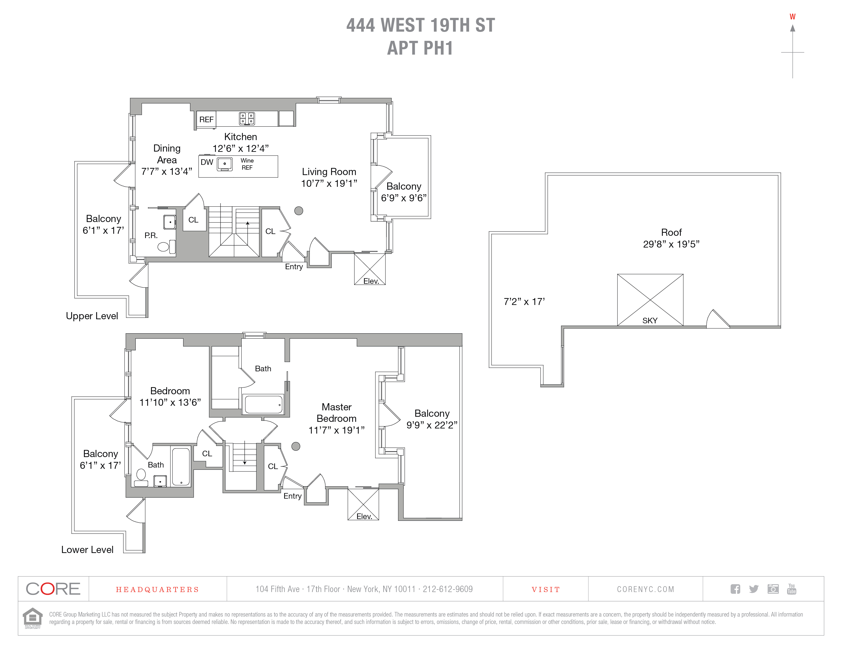 444 West 19th St. Penthouse 1, New York, NY 10011