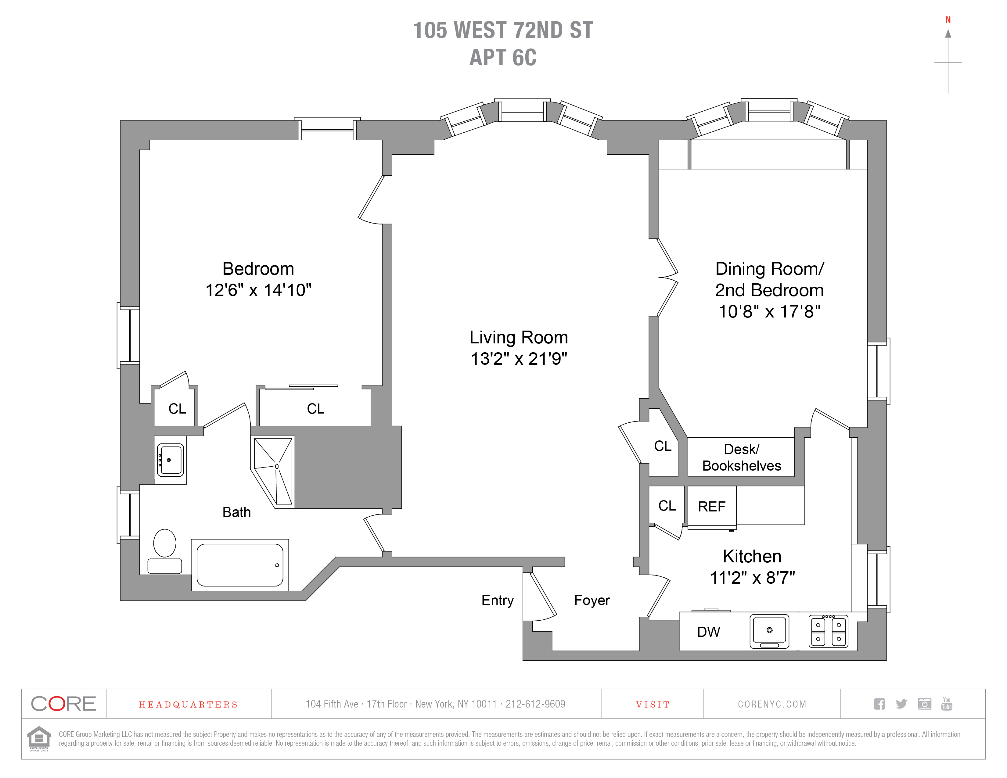 105 West 72nd St. 6C, New York, NY 10023