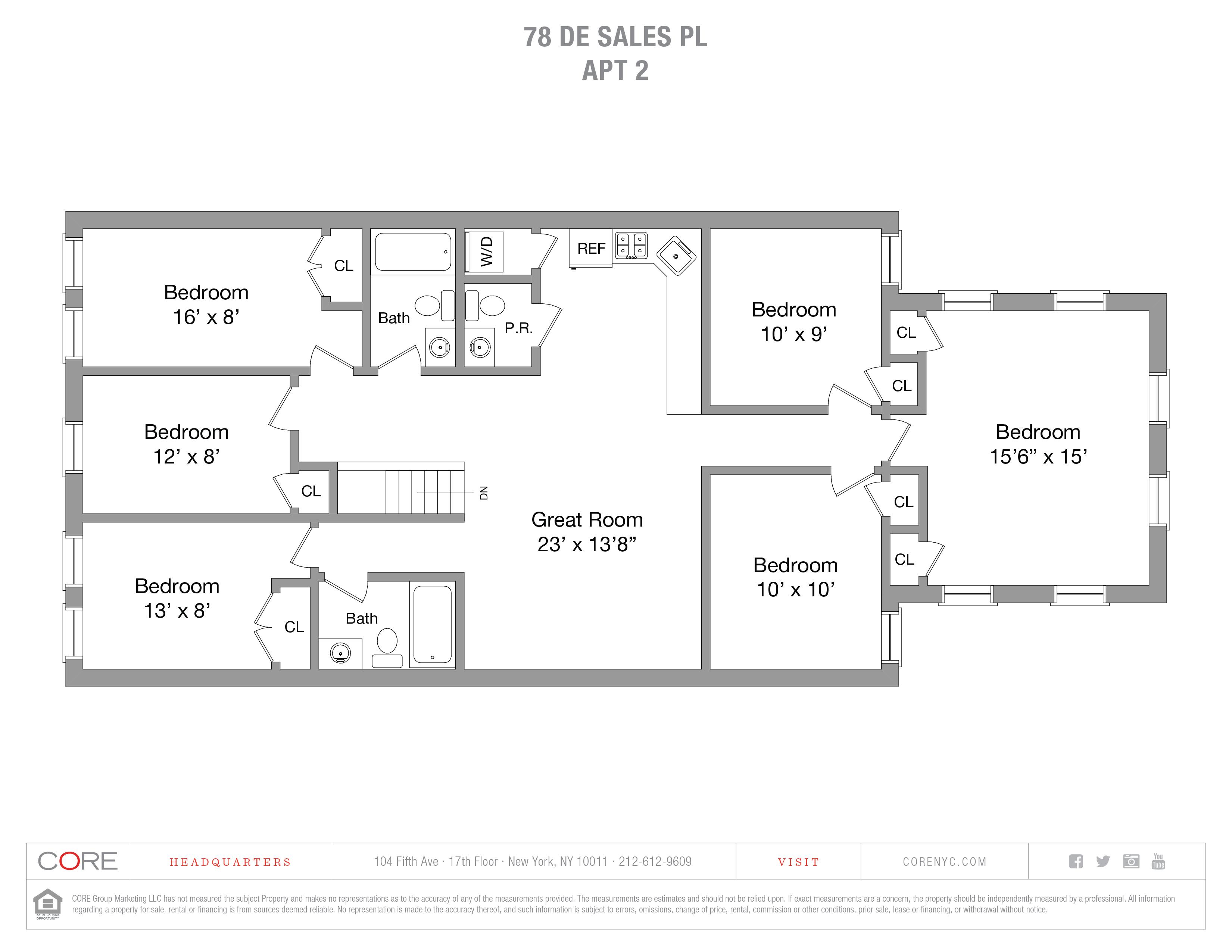 78 De Sales Place 2, Brooklyn, NY 11207