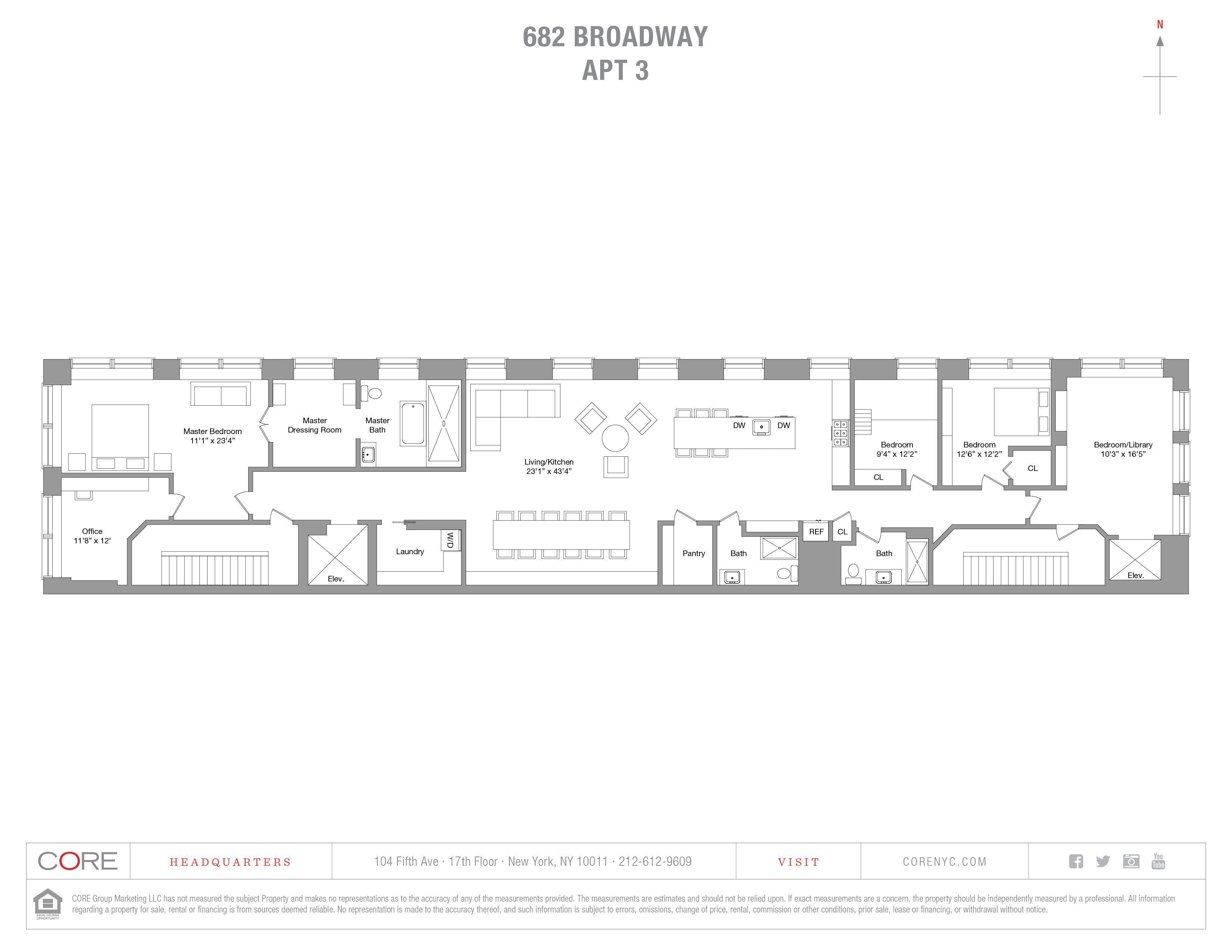 682 Broadway 3, New York, NY 10012