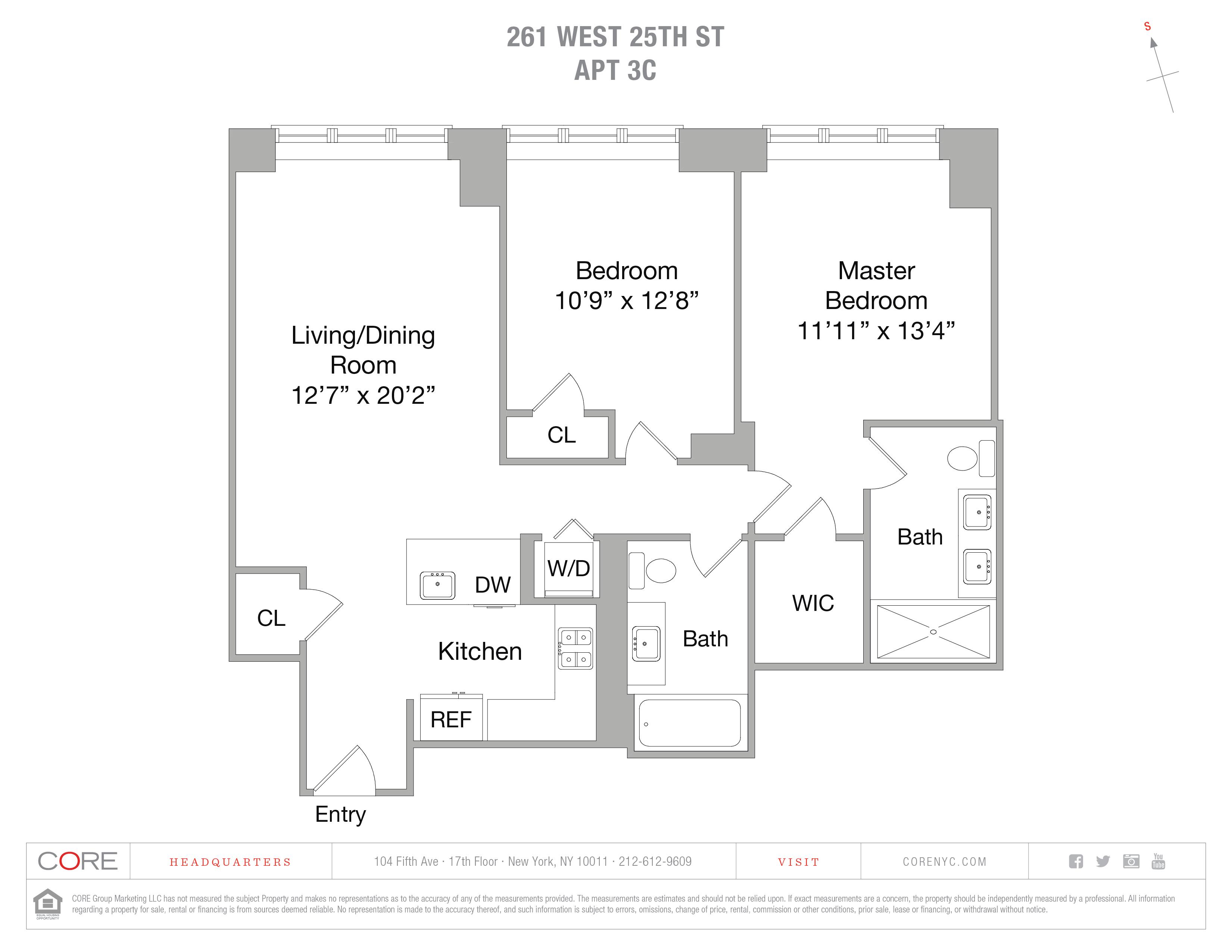 261 West 25th St. 3 C, New York, NY 10001