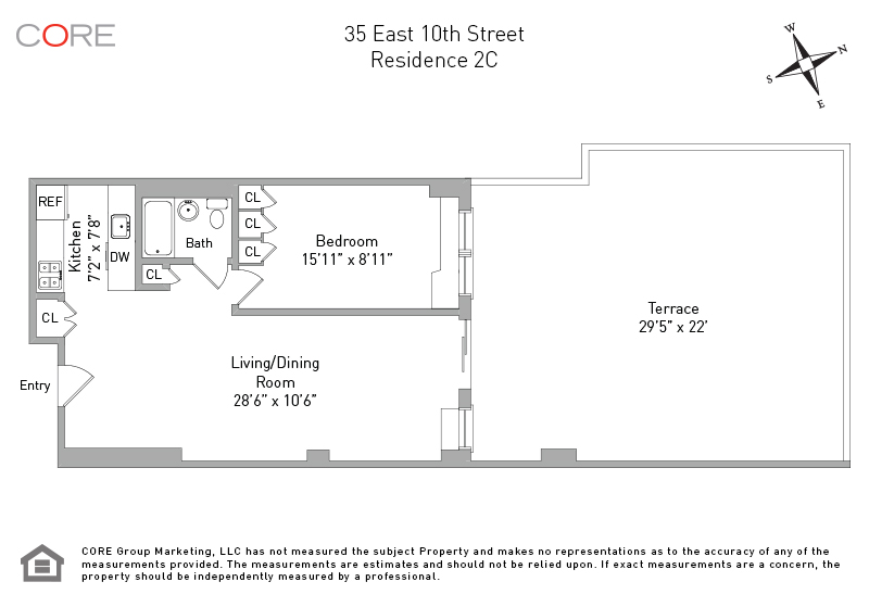 35 East 10th St 2C, New York, NY 10003