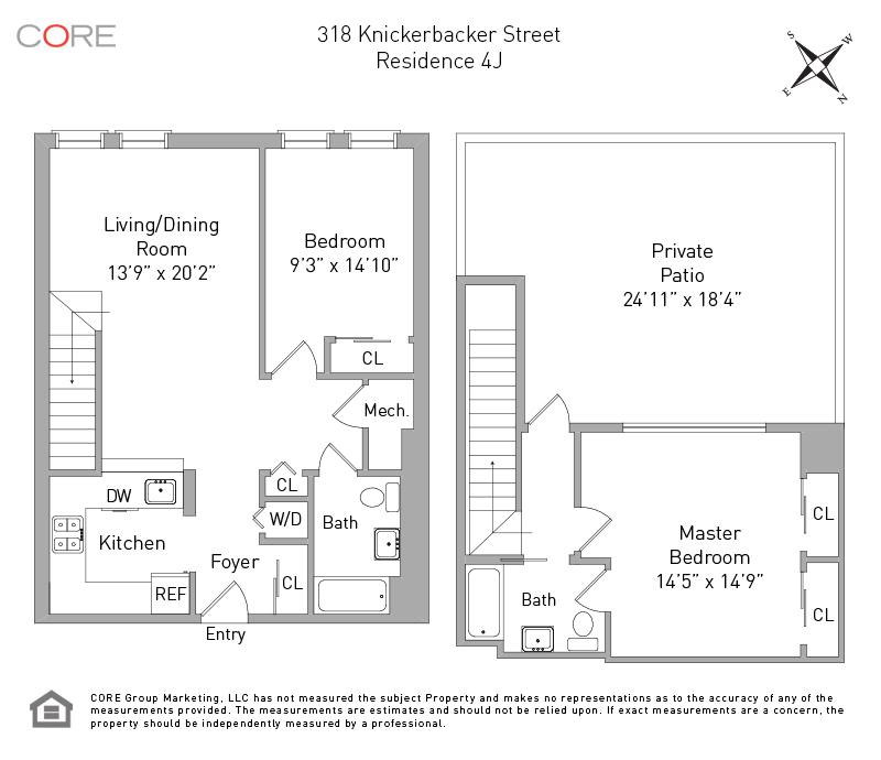 318 Knickerbocker Ave. 4J, Brooklyn, NY 11237