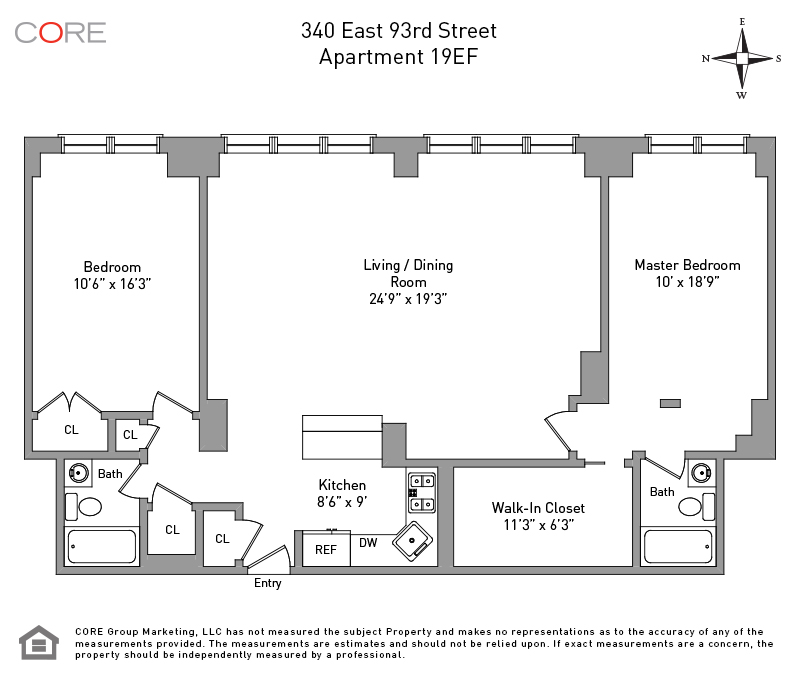 340 East 93rd St. 19EF, New York, NY 10128