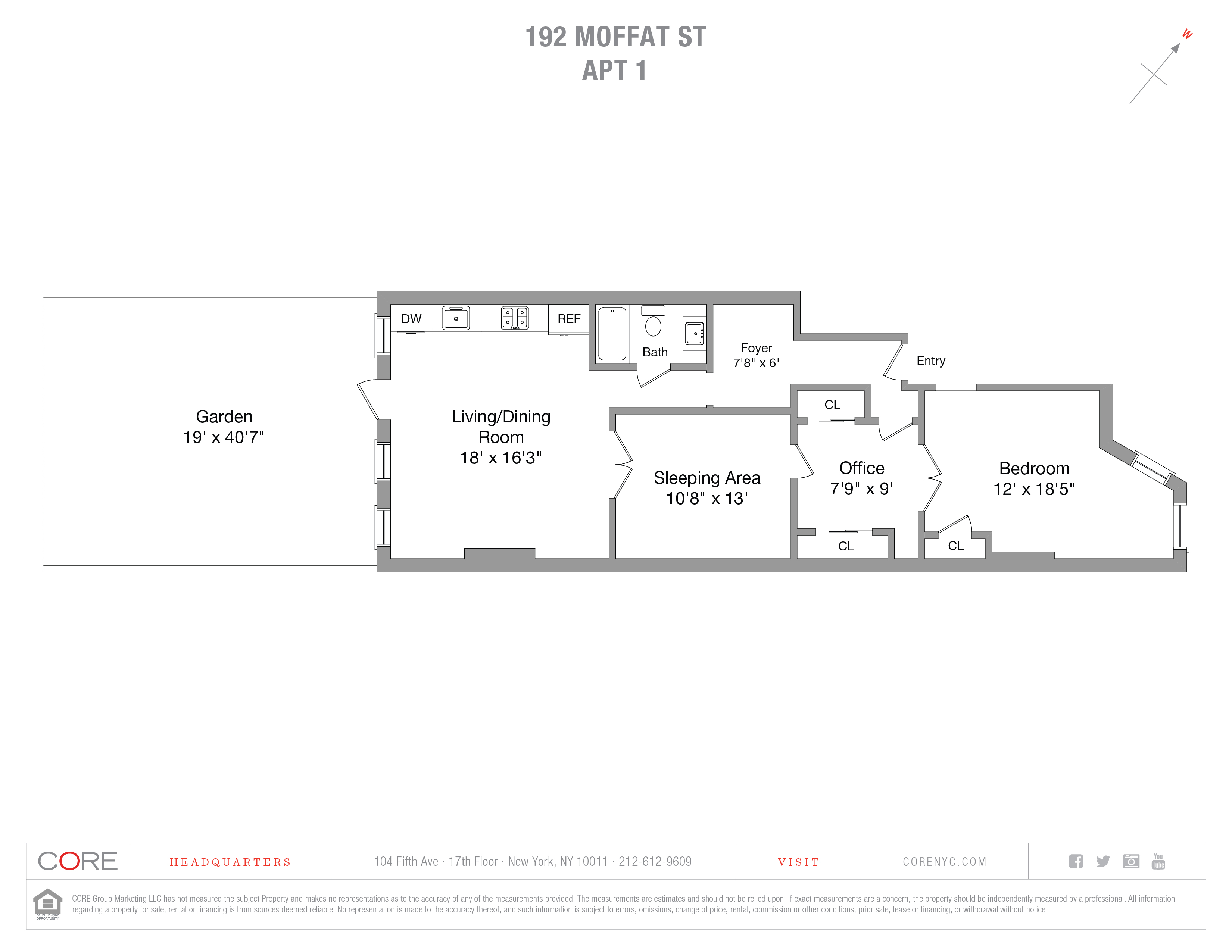 192 Moffat St. 1, Brooklyn, NY 11207