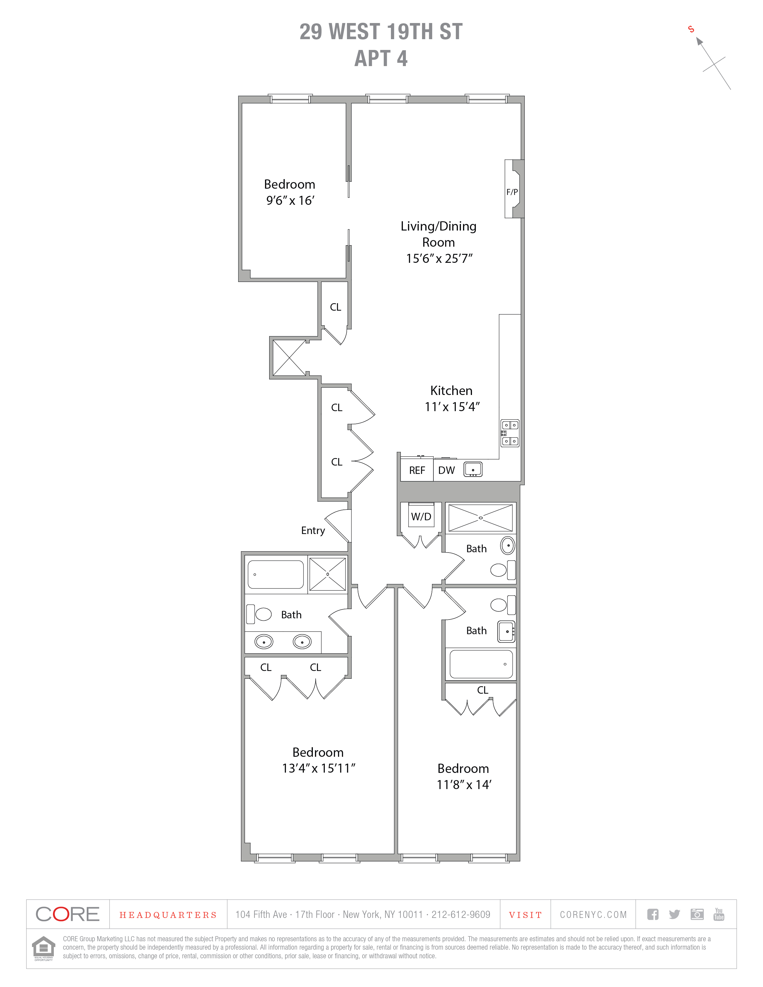 29 West 19th St. 4th Floor, New York, NY 10011