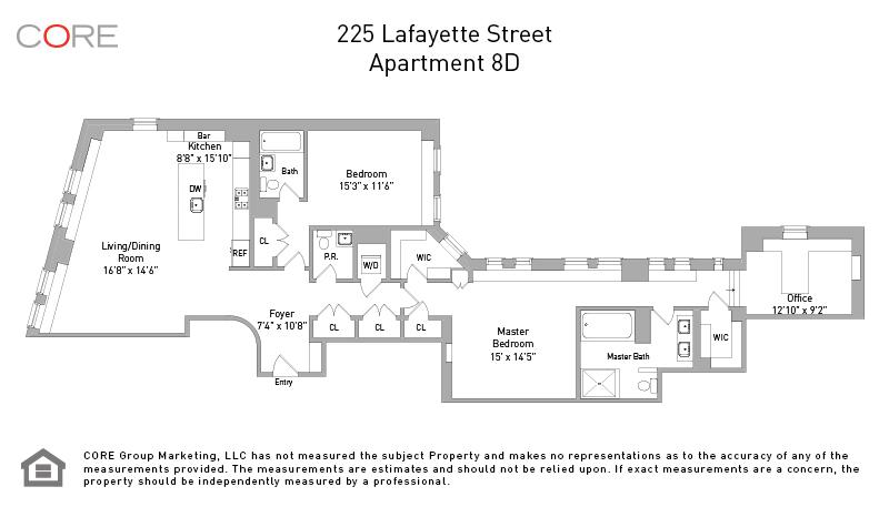 225 Lafayette St. 8D, New York, NY 10012