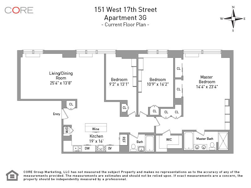 151 West 17th St. 3G, New York, NY 10011