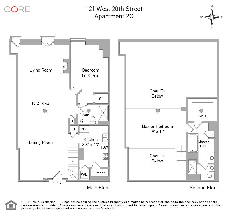 121 West 20th St. 2C, New York, NY 10011