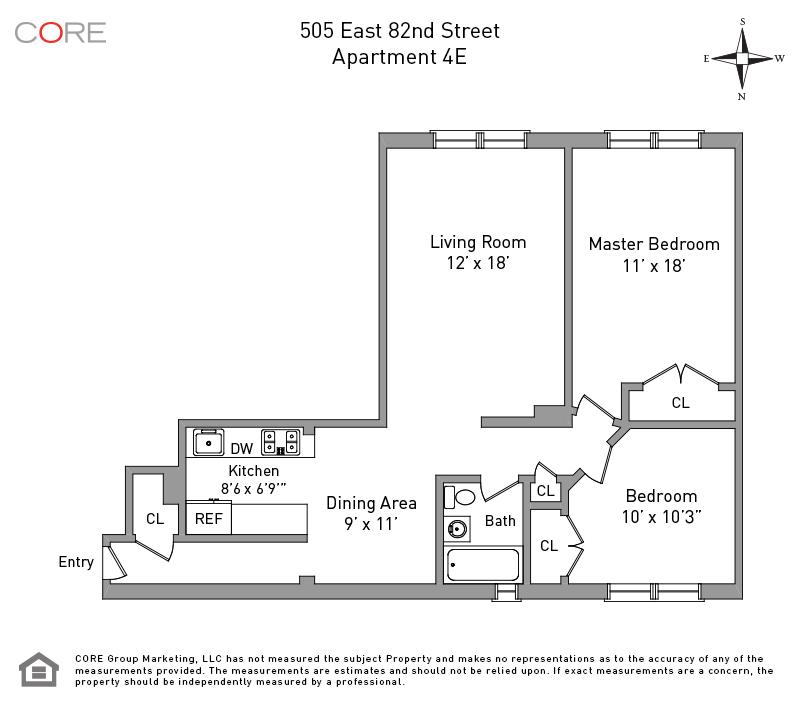 505 East 82nd St. 4E, New York, NY 10028