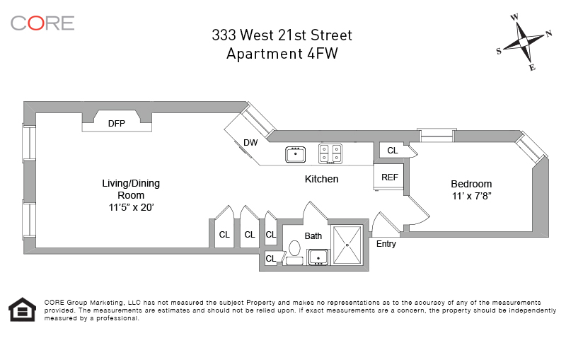 333 West 21st St. 4FW, New York, NY 10011