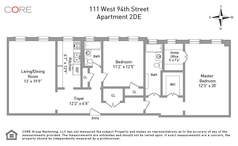 111 West 94th St. 2DE, New York, NY 10025
