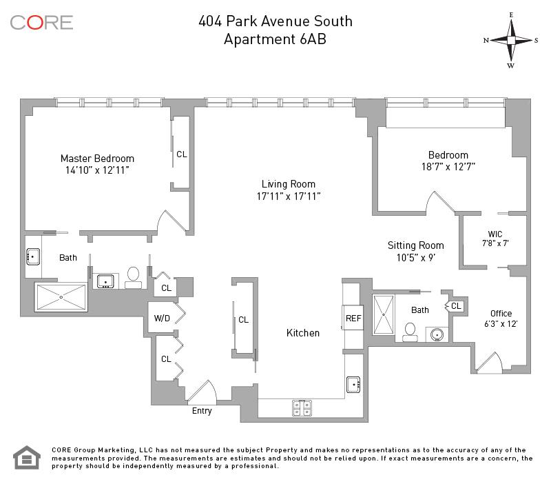 404 Park Ave 6AB, New York, NY 10016