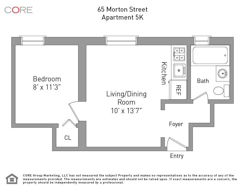 65 Morton St. 5K, New York, NY 10014