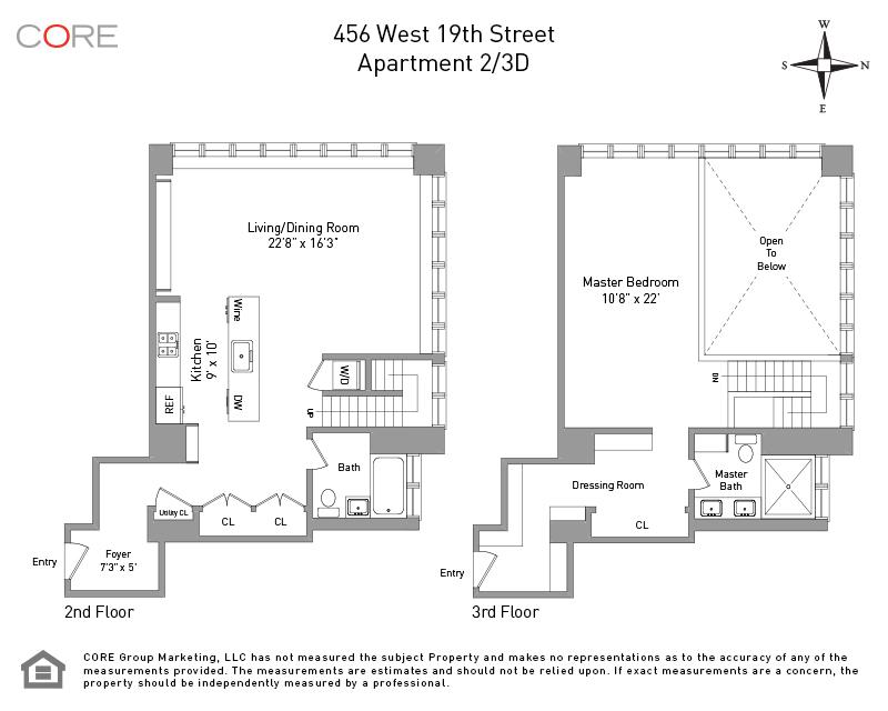 456 West 19th St. 2/3D, New York, NY 10011