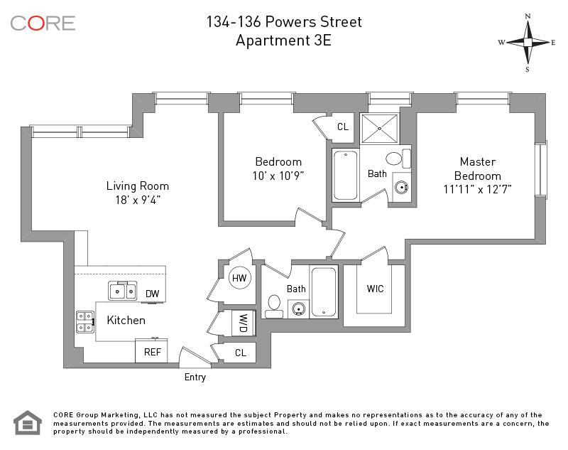 134 Powers St 3E, Brooklyn, NY 11211