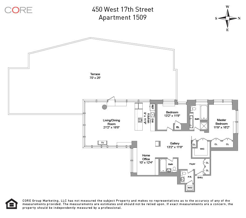 450 West 17th St. 1509, New York, NY 10011
