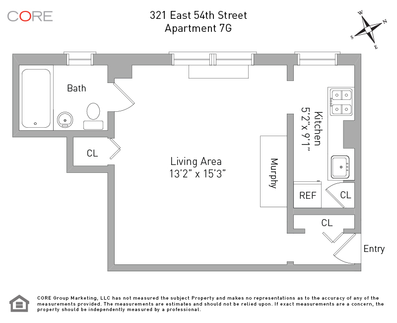 321 East 54th St. 7G, New York, NY 10022