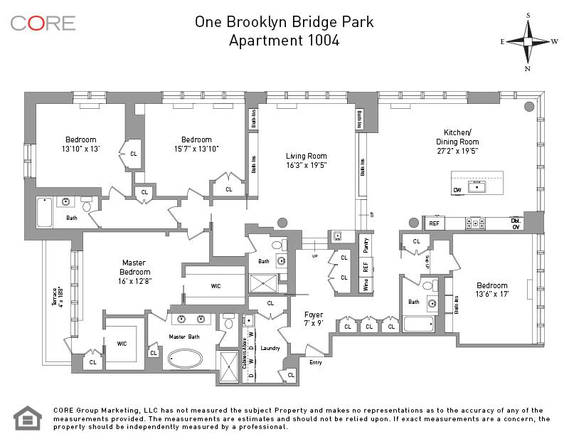 360 Furman St. 1004, Brooklyn, NY 11201