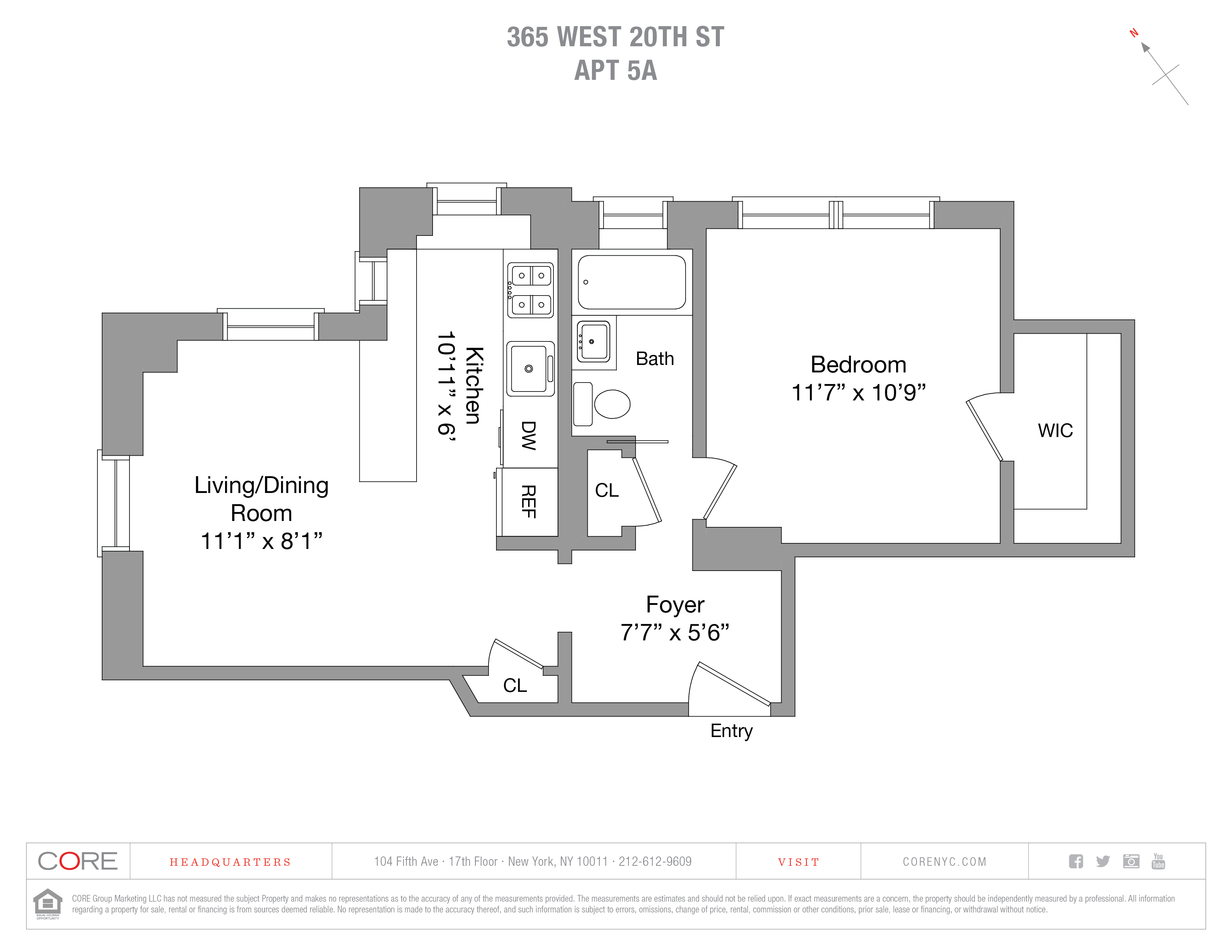 365 West 20th St. 5A, New York, NY 10011