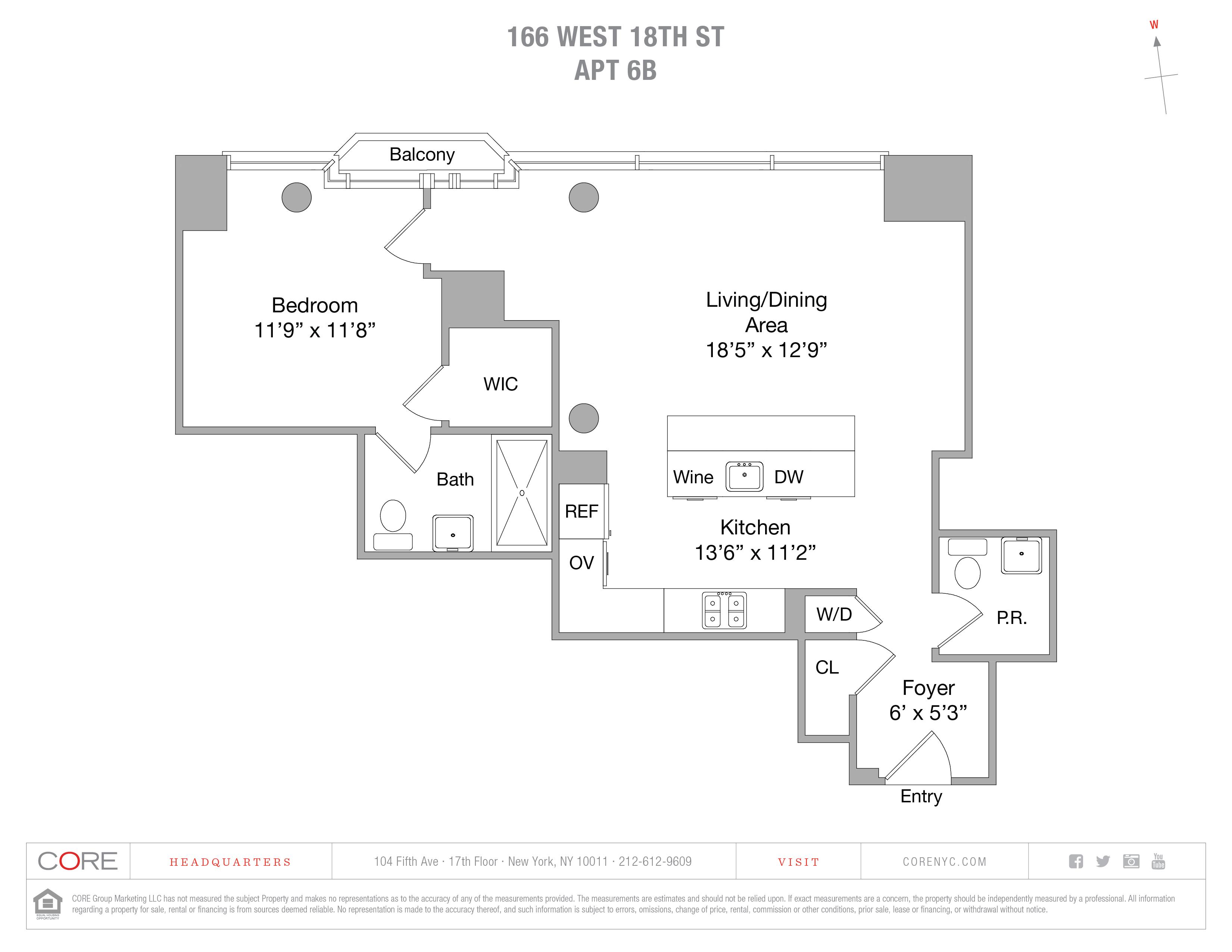 166 West 18th St. 6B, New York, NY 10011