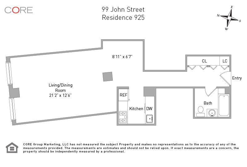 99 John St. 925, New York, NY 10038