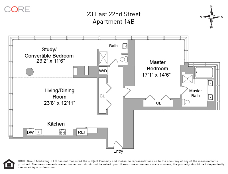 23 East 22nd St. 14B, New York, NY 10010