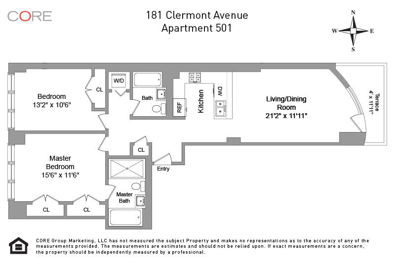 181 Clermont Ave. 501, Brooklyn, NY 11205