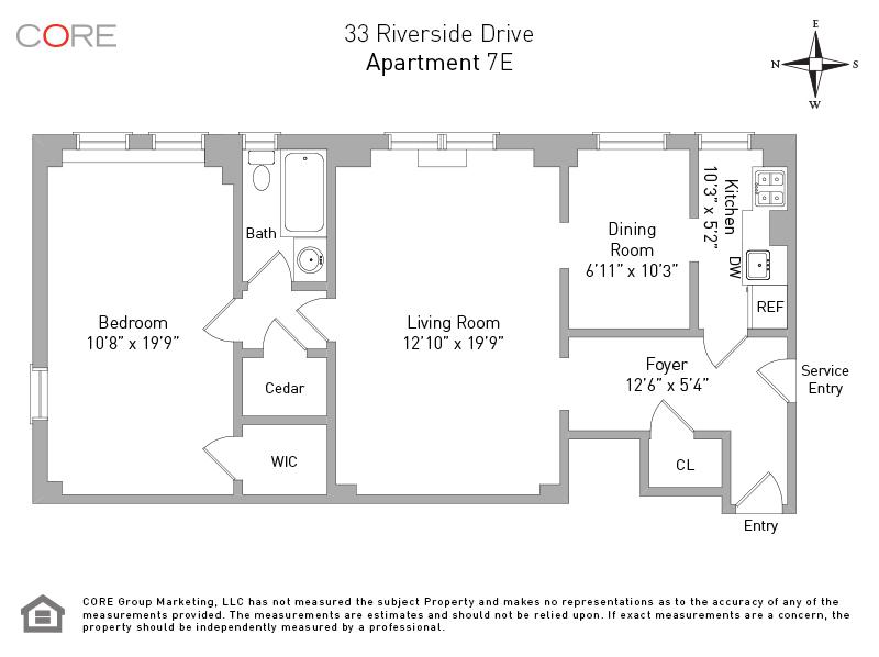 33 Riverside Dr. 7E, New York, NY 10023