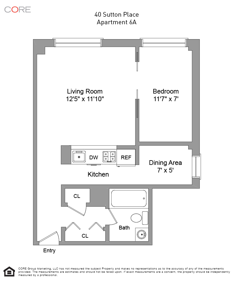 40 Sutton Place 6A, New York, NY 10022