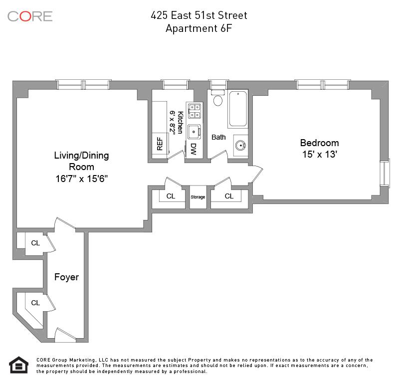 425 East 51st St. 6F, New York, NY 10022