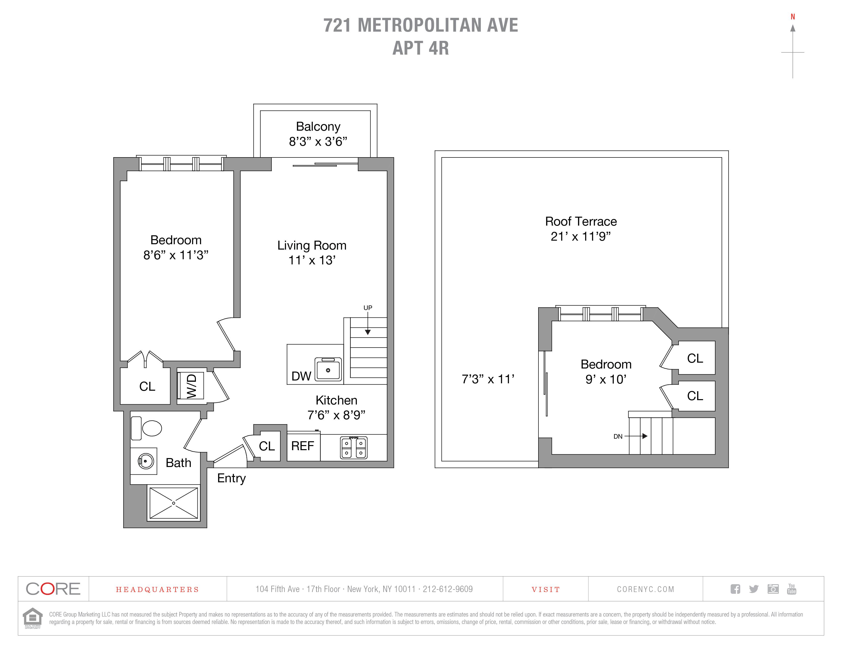 721 Metropolitan Ave. 4R, Brooklyn, NY 11211