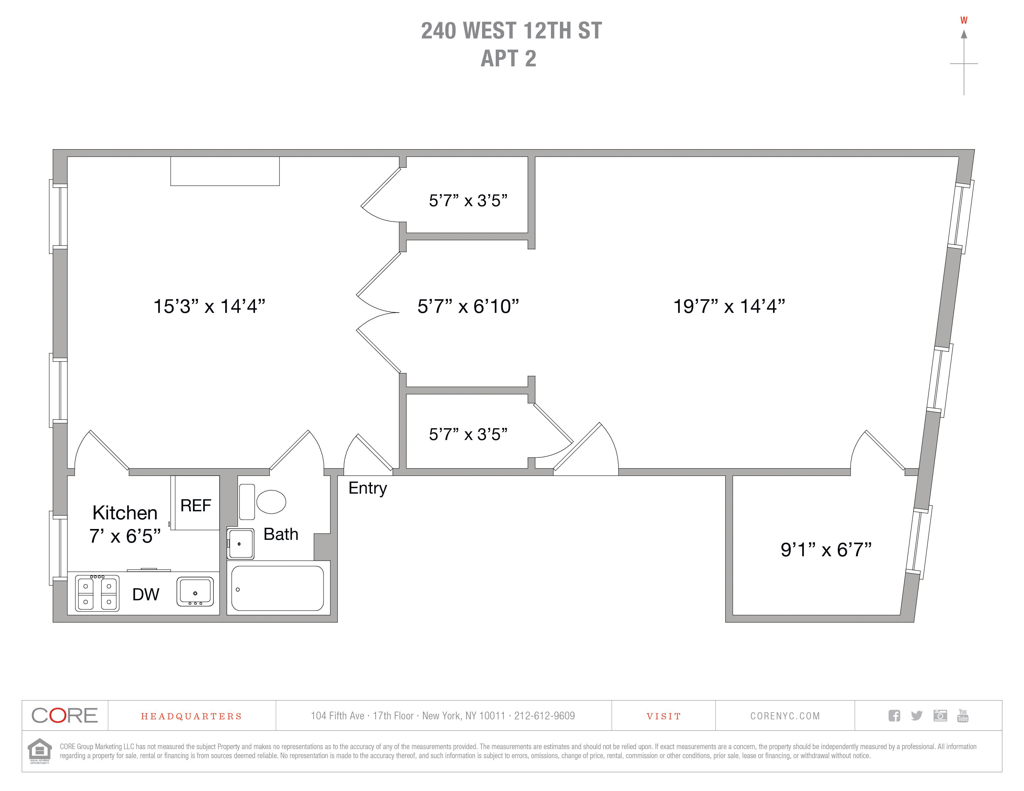 240 West 12th St. 2, New York, NY 10014