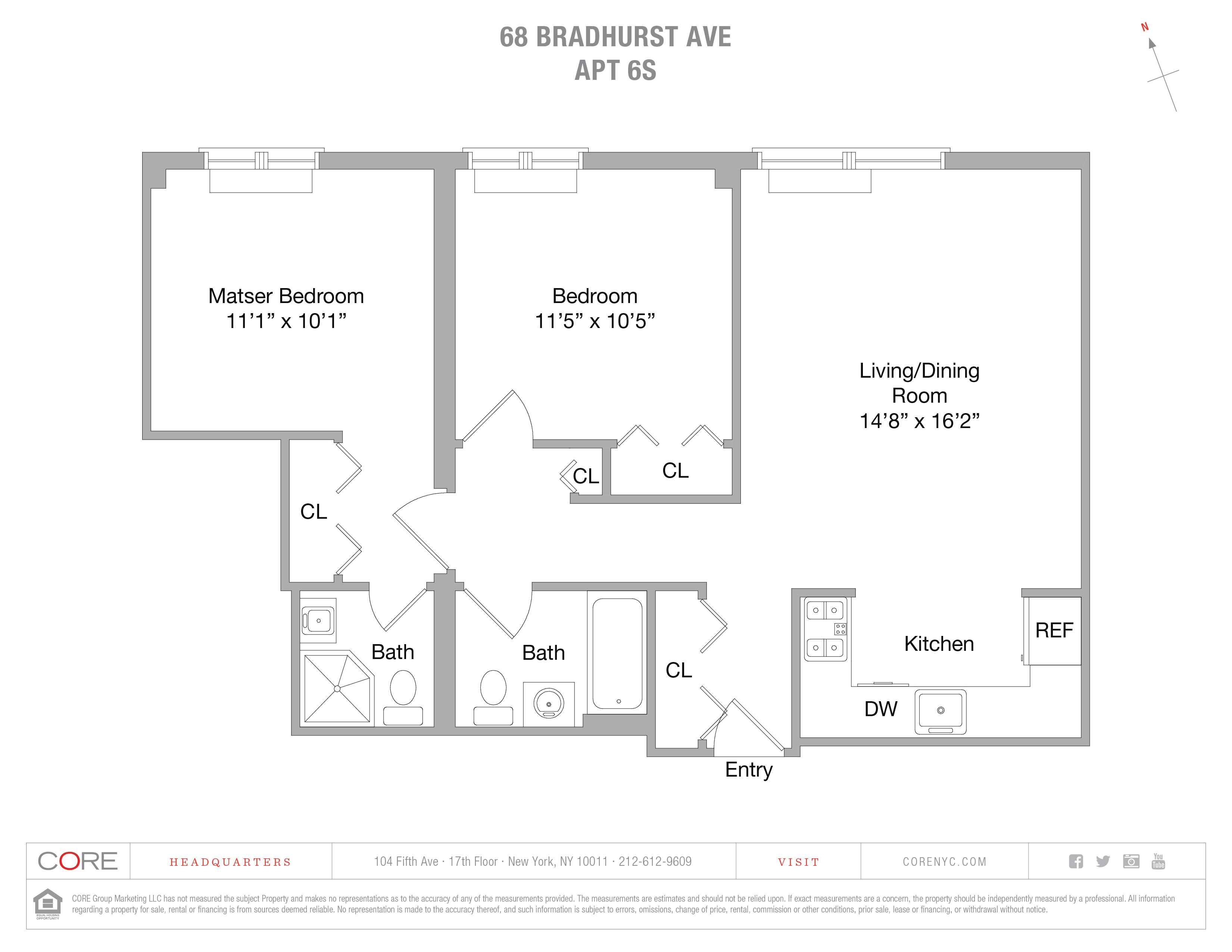 68 Bradhurst Ave. 6S, New York, NY 10030