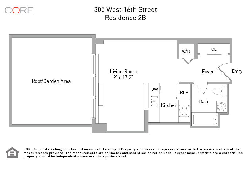 305 West 16th St. 2B, New York, NY 10011