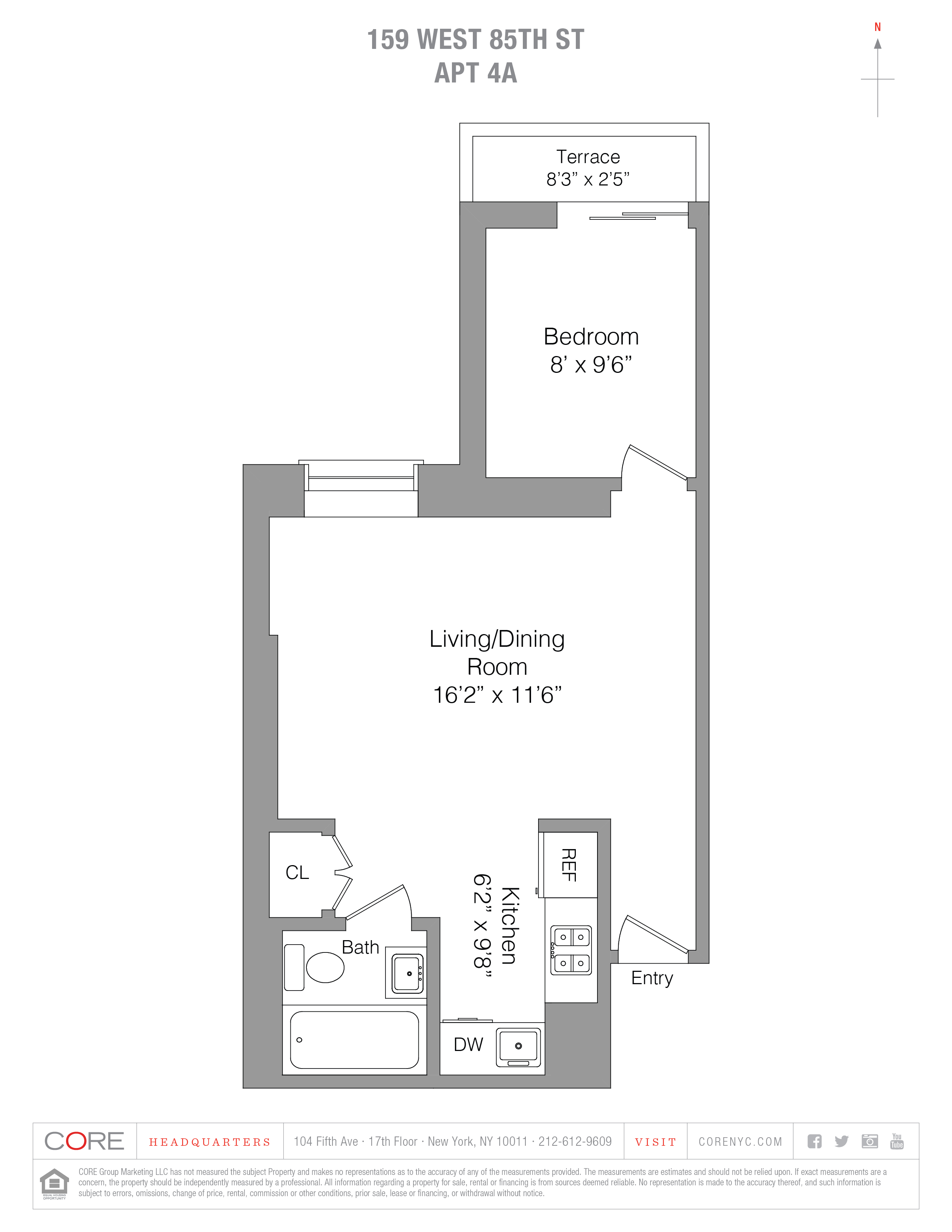 159 West 85th St. 4A, New York, NY 10024