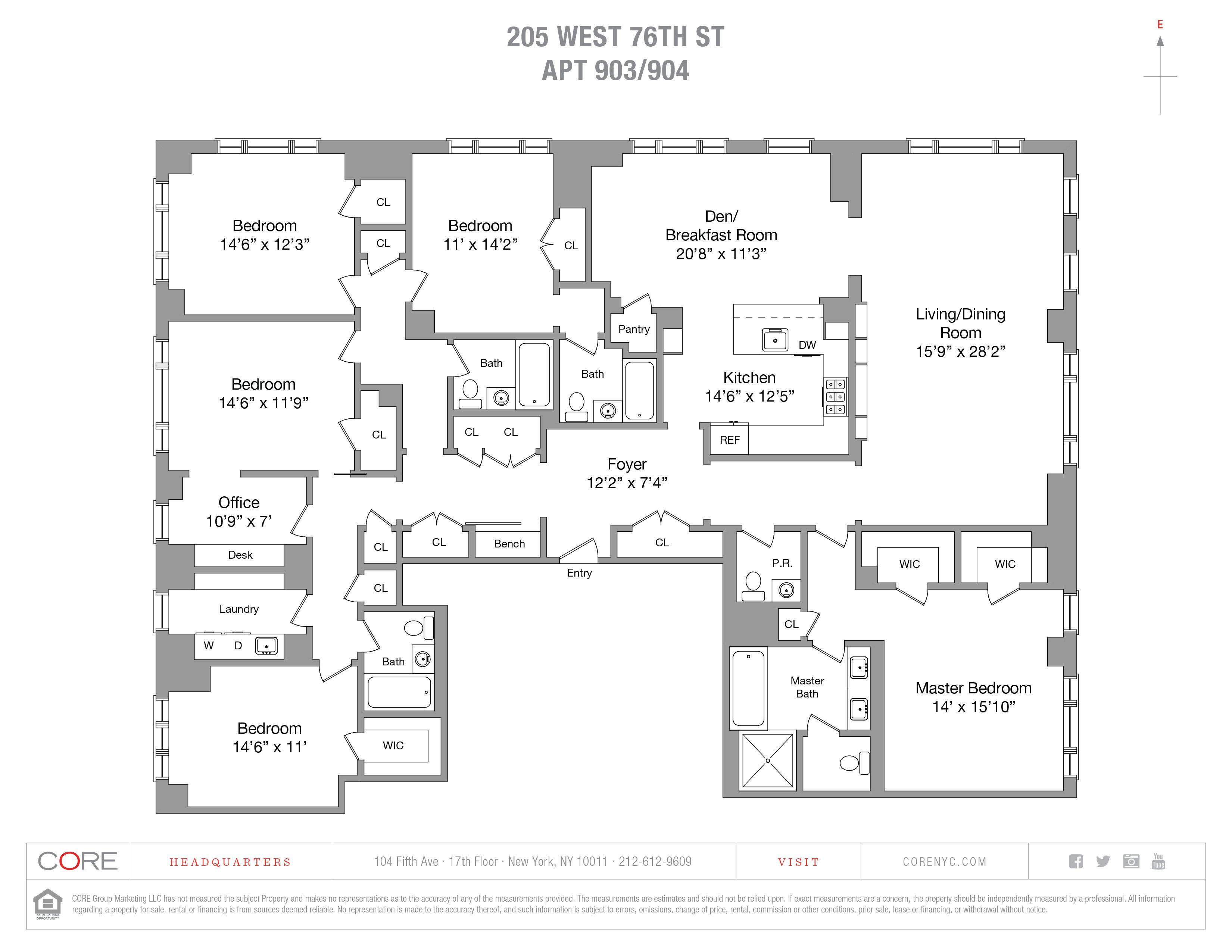205 West 76th St. 903/904, New York, NY 10024