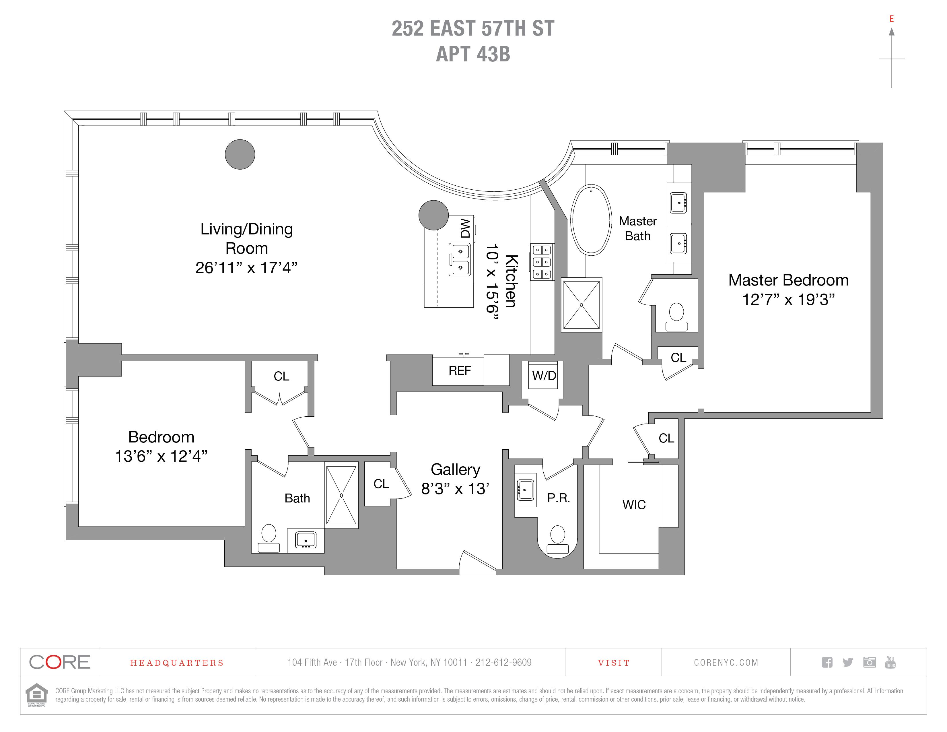 252 East 57th St. 43B, New York, NY 10022