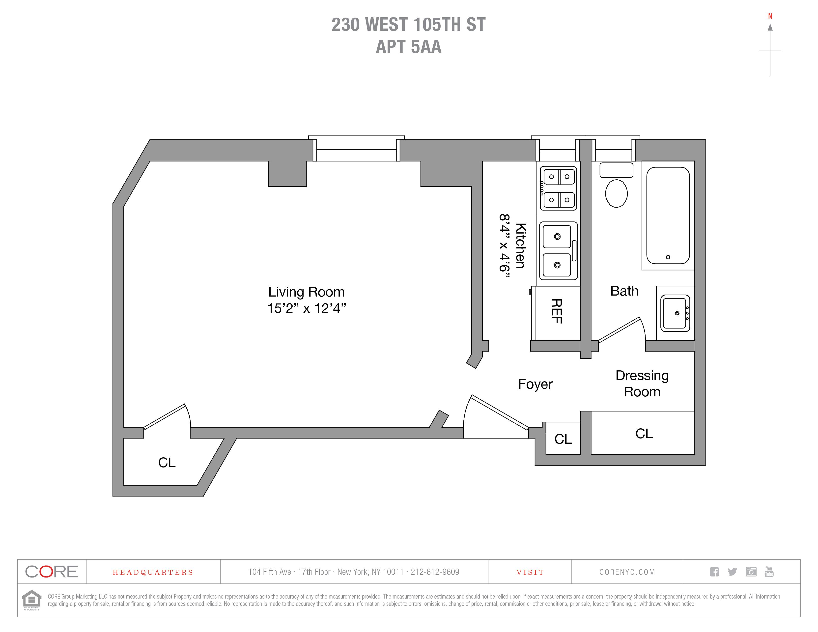 230 West 105th St. 5AA, New York, NY 10025