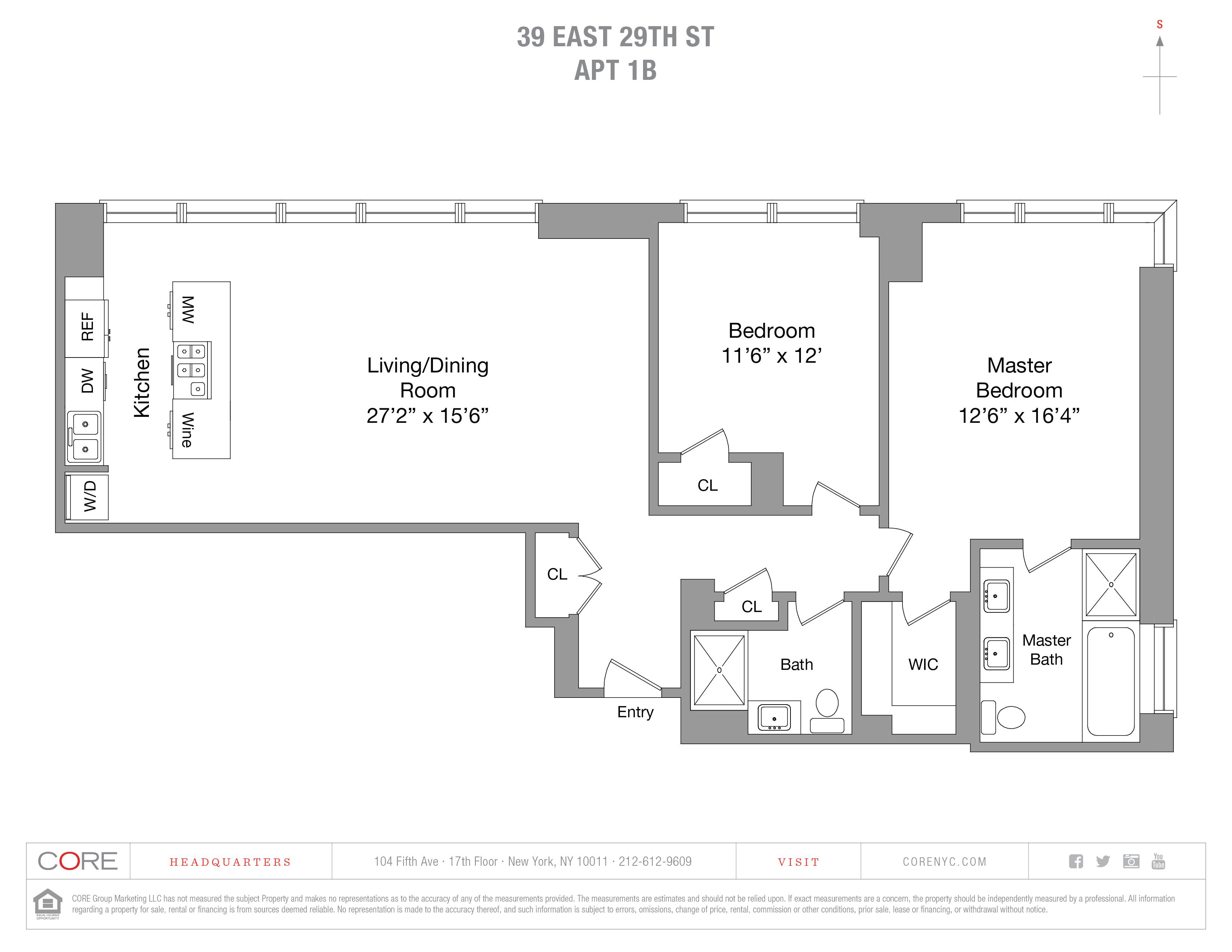 39 East 29th St. PH1B, New York, NY 10016