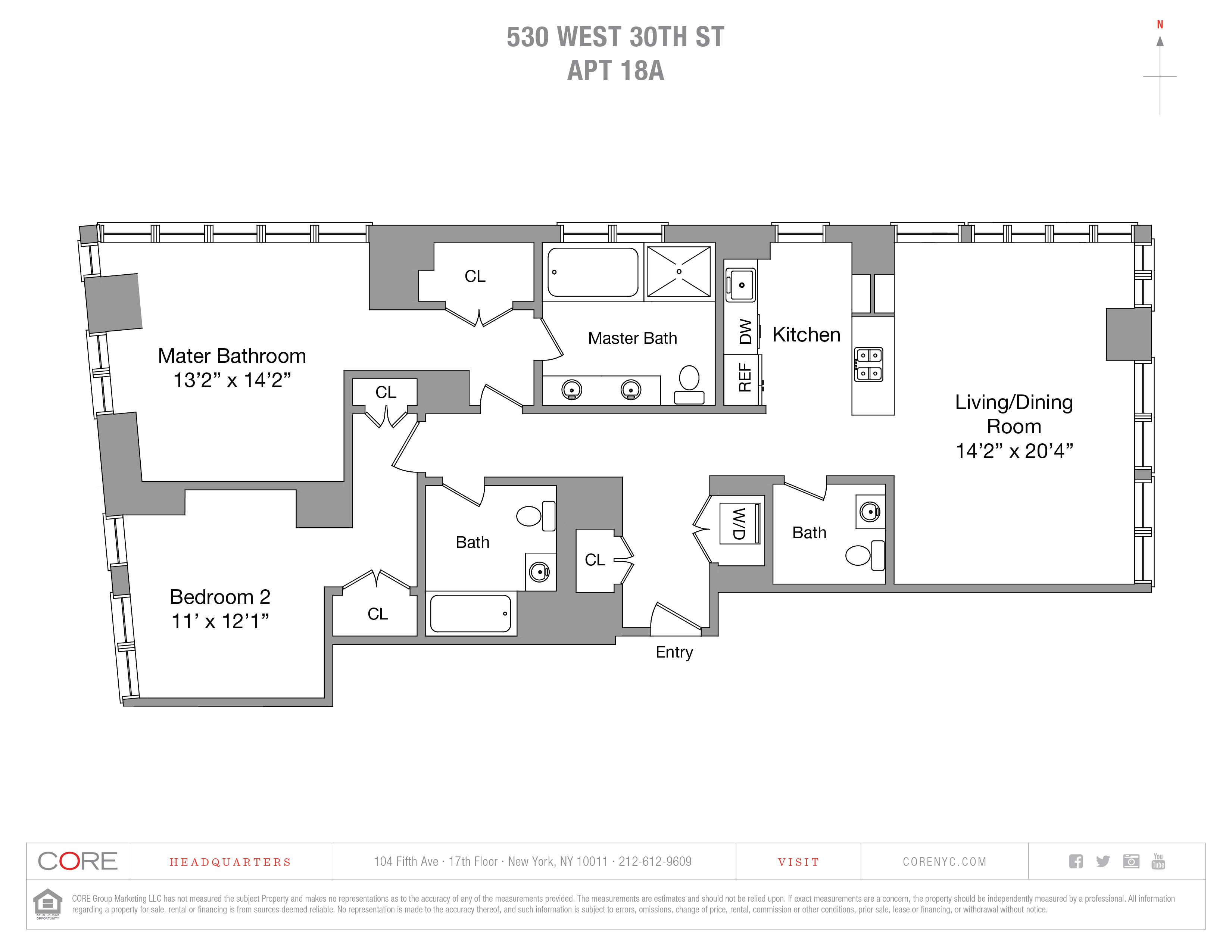 530 West 30th St. 18A, New York, NY 10001