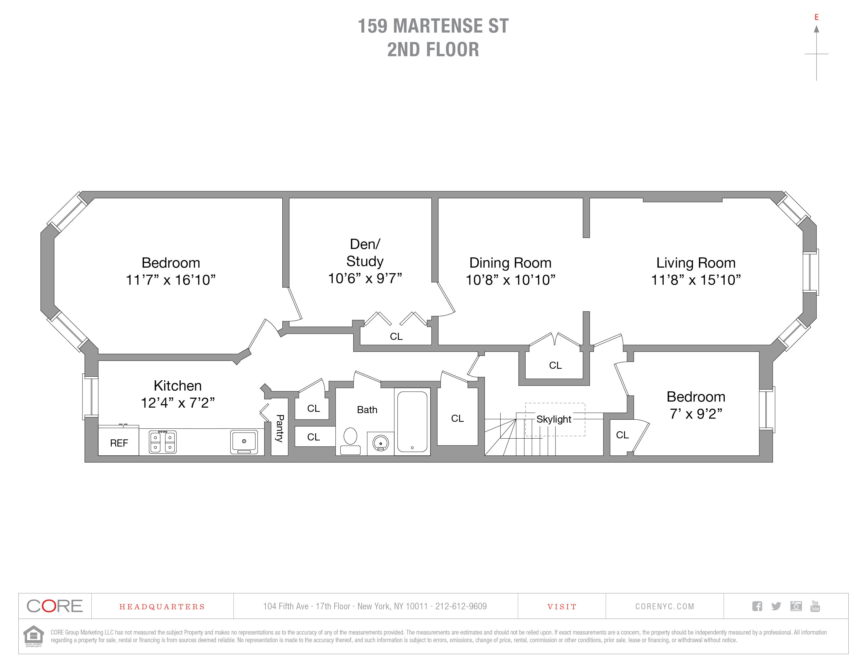 159 Martense St. 2, Brooklyn, NY 11226